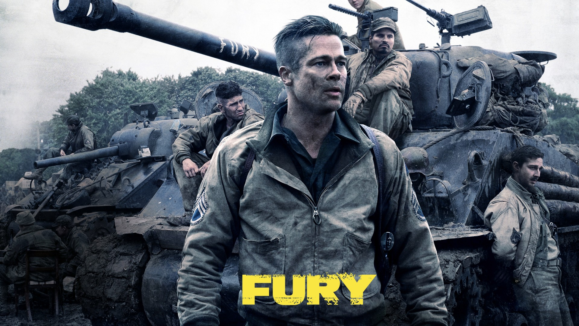 Fury (2014) Hindi Dubb...