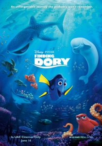 FINDING DORY - Key Art UAE
