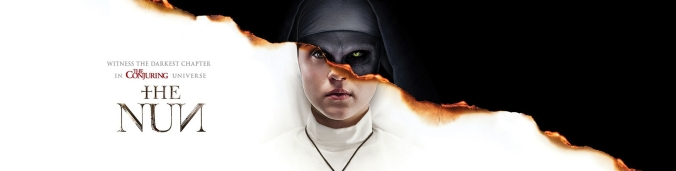 Imagini pentru the nun banner