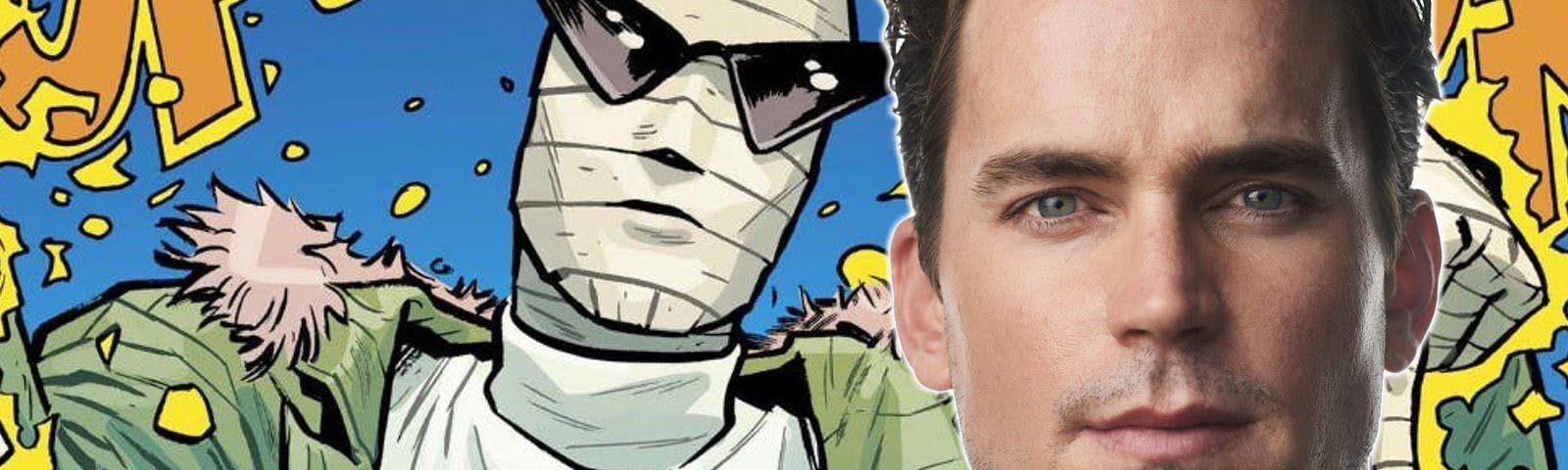 Doom Patrol Matt Bomer Cast As Negative Man In The Dc Universe