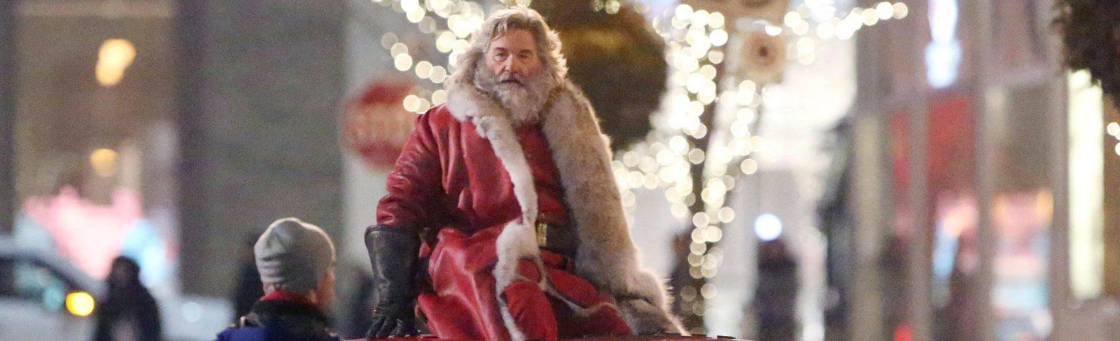 The Christmas Chronicles Santa.The Christmas Chronicles Trailer Kurt Russell Is Santa